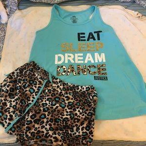 Justice brand pajamas